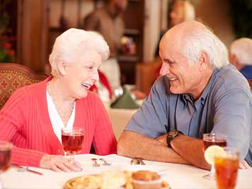 Assisted Living Dining, Assisted Living, Retirement Community