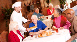 Assisted Living Dining, Assisted Living Chattanooga, Senior Living